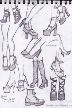 Faces with Graphite Pencils Dibujos de zapatos a lpiz . Pencil drawing of shoes.Dibujos de zapatos a lpiz . Pencil drawing of shoes. Pencil Art Drawings, Art Drawings Sketches, Cute Drawings, Shoe Sketches, Drawings Of Hair, Drawings Of Men, Fashion Sketches, Cute People Drawings, Dress Design Sketches