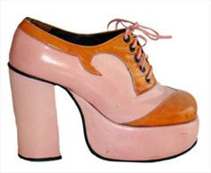 Killer Authentic 1970s Platform Shoes had a pair of blue suede ones like these. Still have them!