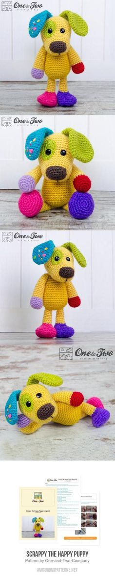 Scrappy the Happy Puppy amigurumi pattern