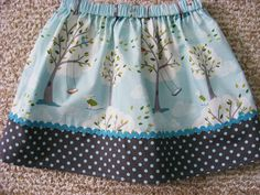 Michael Miller  Windy Day Skirt    (12 mos, 18 mos, 24 mos,   2T, 3T, 4T, 5, 6, 7) by wickedcutekidz on Etsy https://www.etsy.com/listing/98022169/michael-miller-windy-day-skirt-12-mos-18