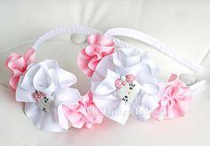 Hello Kitty Ribbon Blossom Headband in Pink