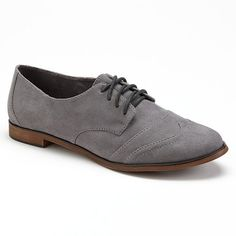 Khol's//Unleashed by Rocket Dog Ladeen Oxford Shoes - Gray//$32.97 (sale)