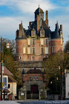 Château de Montmort - département de la Marne