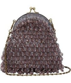 1930s Vintage Droplet Beaded Handbag--- they just don't make them as beautiful today!
