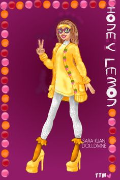 Honey Lemon! ~ by ToTheMoon ~ created using the Urban Chic doll maker | DollDivine.com