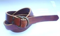 PHOTOS - Le Sellier ceinture cuir Georges Grech