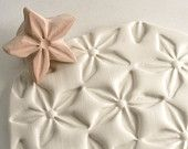Clay Stamp Large Star Flower Jasmine Shape Pattern Texture Shape Tool for Clay Ceramics Pottery Fondant Cookies. $15.95, via Etsy.