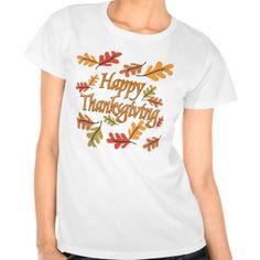 Happy Thanksgiving Tshirts