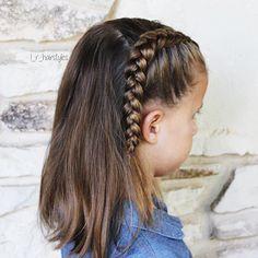 Hairstyles | Hair Ideas | Hairstyles Ideas | Braided Hair | Braided Hairstyles | Braids for Girls | Braids for Little Girls | Toddler Hairstyles | Toddler Hair Ideas | Braids | Updos | Half Up | Ponytails | Dutch Braid