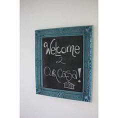 chalkboard to hang on the wall.  perfect for leaving fun messages!