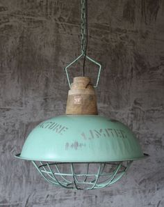 hngelampe xxl fabriklampe hnge lampe 49 cm alte industrielampe loftlampe - Hngende Kopfteillampe