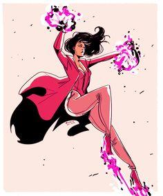 Hi, I liked Civil War a lot. Here's a super quick Wanda.