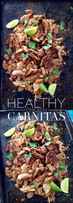 Chicken Carnitas Recipe (Healthy )