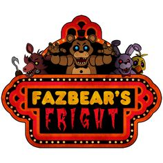 Five Nights at Freddy's Fazbear's Fright Logo by kaizerin =========================   #FNAF