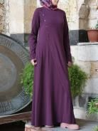 Plum Fluid Design, Hijabs, Muslim Women, Daily Wear, Plum, Glamour, Trends, Couture, How To Wear