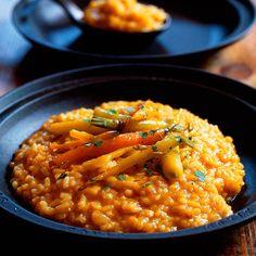 Risotto cremoso al curry