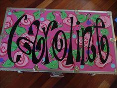 Custom Summer Camp Trunks | Houston, TX | SillySillyGirls.com