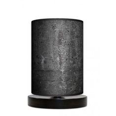 Fotolampa stojąca mała - Black stone_wenge www.fotolampy.pl