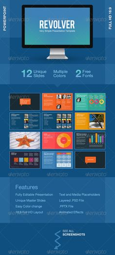 Revolver Powerpoint Template - Powerpoint Templates Presentation Templates