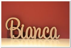 Wooden Names, Special Events, Custom Made, Presents, Neon Signs, Link, How To Make, Ideas, Design