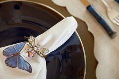 Inspiração para arrumar a mesa...