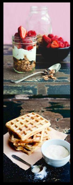 Breakfast in mason jars for the week
