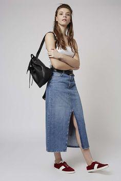 Photo 3 of MOTO Maxi Split Front Skirt