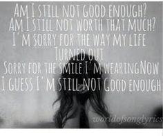 Am i still not good enough...little mix