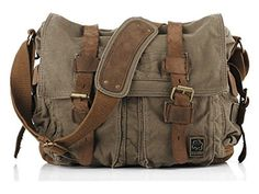 New Sechunk Vintage Military Leather Canvas Laptop Bag Messe.- New Sechunk Vintage Military Leather Canvas Laptop Bag Messenger Bags Medium online – Topofferclothing - Military Messenger Bag, Cool Messenger Bags, Canvas Messenger Bag, Vintage Messenger Bag, Womens Messenger Bag, Canvas Laptop Bag, Canvas Crossbody Bag, Leather Crossbody Bag, Tote Bag
