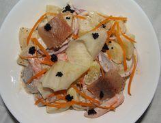 Sałatka ziemniaczano - śledziowa #intermarche #ziemniaki #śledź Pancakes, Breakfast, Ethnic Recipes, Food, Morning Coffee, Essen, Pancake, Meals, Yemek