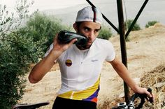 Colombian cycling jersey by Rapha