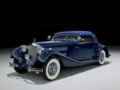 "doyoulikevintage: ""1938 Mercedes-Benz Pre-War - 320 Cabriolet A """