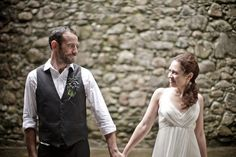 A Wonderful Elopement at Kilchurn Castle in the Scottish Highlands...