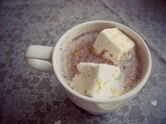Edible glitter marshmallows make any s'mores or cup of cocoa better!