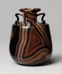 A 2100 year old agate perfume bottle.