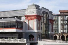 Mercado La Ribera, Bilbao (Spain) by Emilio Puertas , estudio EPA, Technique: VMZ Adeka®, Aspect: QUARTZ-ZINC® #VMZINC #Architecture #QuartzZinc #Spain #España #Roofing