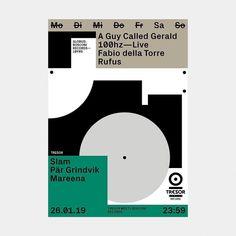 Tresor January A selection of the monthly artwork we designed Leaflet Design, Graphic Design Layouts, Graphic Design Posters, Graphic Design Typography, Layout Design, Dm Poster, Poster Layout, Art Studio Design, Book Design