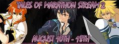 Live commentary with ClesStahn on August 14, 2014! Tales of Marathon Stream 2 hosted by AC Staff member PanbanRichard Sunday, August 10! Special guests..Tales of Xillia 2 CE giveaway! Full post: abyssalchronicles... ! ClesStahn live commentary Thursday August 14, 2014 #tales #talesof #talesseries #talescentral #clesstahn #abyssalchronicles #talesofseries #talesofmarathon #talesofmarathonstream #talesofdestiny #talesoftheabyss #talesofxillia #talesofxillia2
