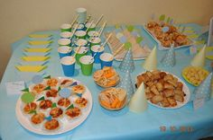 #mesasalada #aperitivos cumpleaños