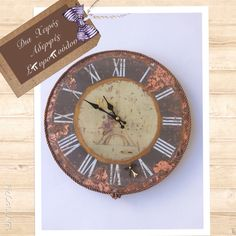 Wall clock by Aderfes Spyropoulou!