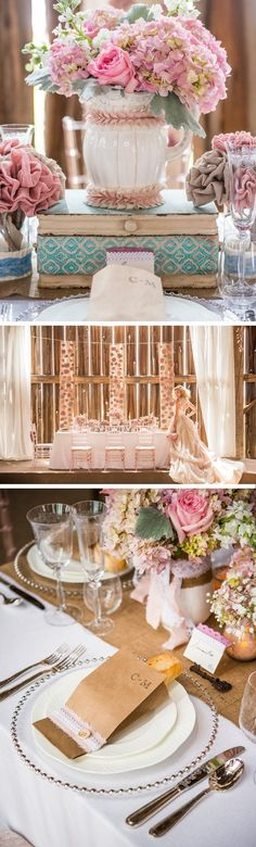 Rustic Shabby Chic Wedding Theme Inspiration