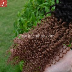 #1b/30,black brown ombre hair weaves,curly wave two tone human hair,shop from www.latesthair.com/ Curly Weave Hairstyles, Latest Hairstyles, Curly Hair Styles, Black To Brown Ombre Hair, Blond, Ombre Hair Weave, Ombre Human Hair Extensions, Bombshell Hair, Hair Shop