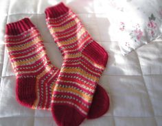 Ravelry: Heikku's Cress Socks