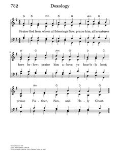Praise God From Whom All Blessings Flow - Hymnary.org