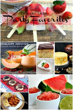 Delicious Dishes party favorites! So many great recipes!