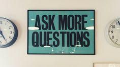 Bild mit Ask more questions um sich selbst kennenzulernen