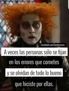 De hecho Mad Hatter Quotes, Sad Quotes, Life Quotes, Madly In Love, My Love, Bright Quotes, Alice And Wonderland Quotes, I Hate My Life, Motivational Phrases