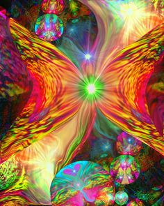 angel and fairy artists | Abstract Angel Psychedelic Fairy Reiki Wall Decor Chakra Art - product ...