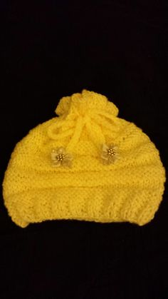 Baby girl beanie Wow!!!!! by Zues!!! ( $15.00)