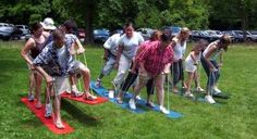 Team building activities for adults, outdoor games adults, outdoor party ga Picnic Activities, Picnic Games, Activities For Adults, Outdoor Games For Adults, Youth Activities, Graduation Party Games, Grad Parties, Church Picnic, Family Picnic